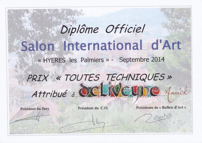 Prix du jury Hyères les Palmiers 2014